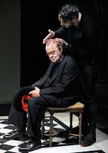 Photo: Wien/Burgtheater/ Vestibül: DIE HAMLET-MASCHINE von Heiner Müller. Premiere am 16.10.2015. Inszenierung: Christina Tscharyiski. Ignaz Kirchner, Christoph Radakovits. Copyright: Barbara Zeininger