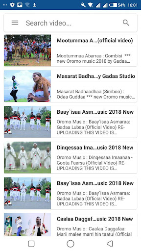 Oromo Music Video - Apps on Google Play