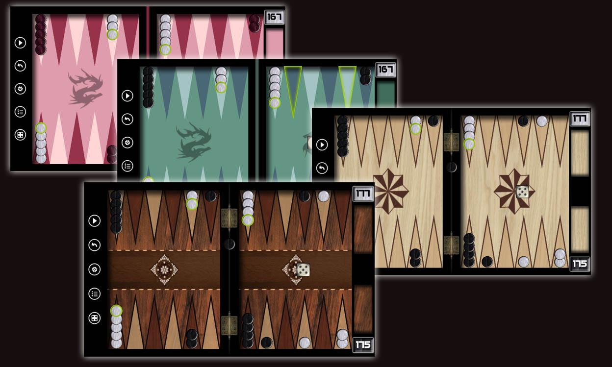 Backgammon - Online- screenshot