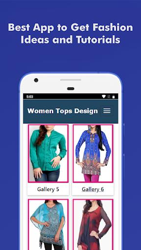 Best Women Tops Design Offline 2.0 screenshots 1