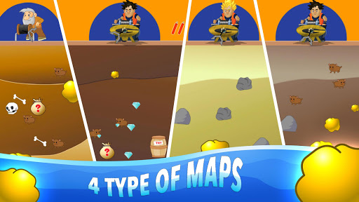 Gold Miner Classic: Gold Rush, Mine Mining Game 2.3.12 screenshots 1