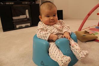 Photo: Bumbling Bumbo baby!