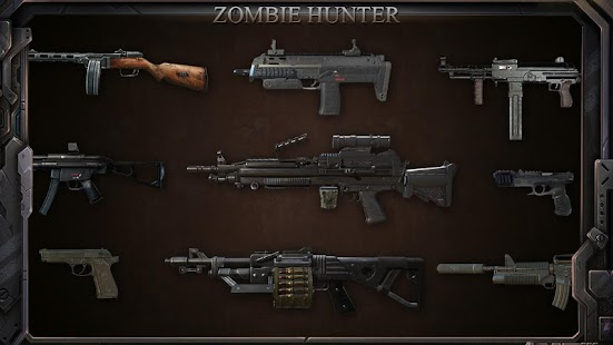 Zombie Shooter : Fury of War Screenshot