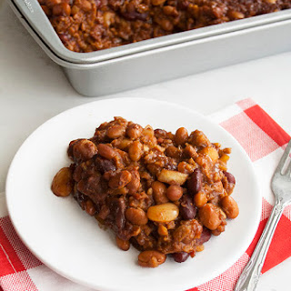 Cowboy Baked Beans With Ground Beef Recipes.
