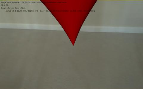 Augmented Reality Tango screenshot 1