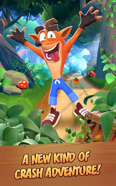 Crash Bandicoot trên đường chạy!  MOD APK 1.0.76 1