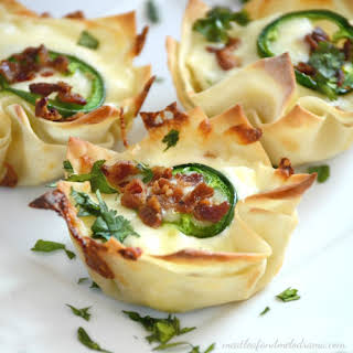 Jalapeno Popper Cups with Bacon.