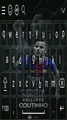 Coutinho FCB keyboard 2018 7.0 screenshots 3