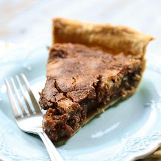 Caramel Chocolate Pecan Pie