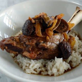 Lamb Shanks with Ginger and Figs (Pressure Cooker, AIP).