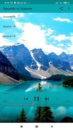 Sounds of Nature screenshot 2