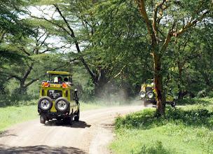 Photo: Ensimmäinen kohteemme Keniassa oli Nakuru-järvi