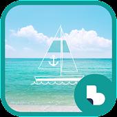에메랄드빛 바다 버즈런처 테마 (홈팩)