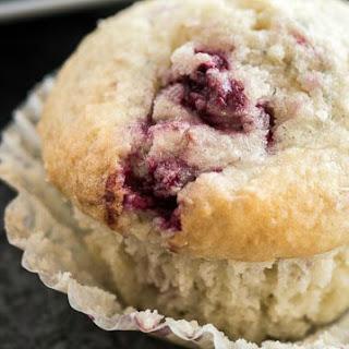 Raspberry Coconut Muffins.