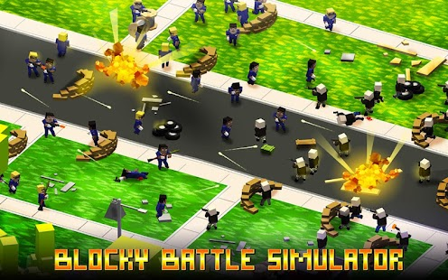 Blocky Battle Simulator - náhled