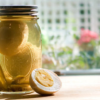 Simple Pickled Eggs.