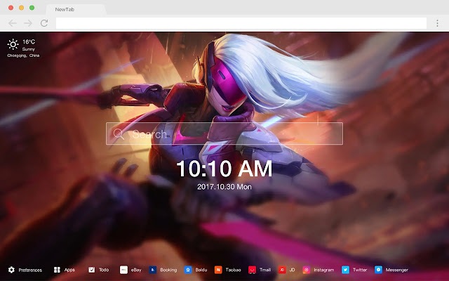 League of Legends New Tabs HD Games Theme