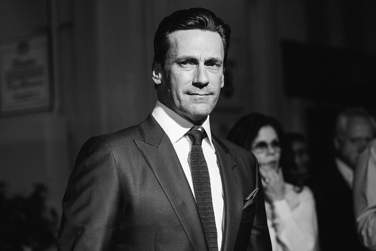 Jon Hamm at an event.