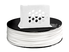 White PRO Series PETG Filament - 2.85mm (10lb)