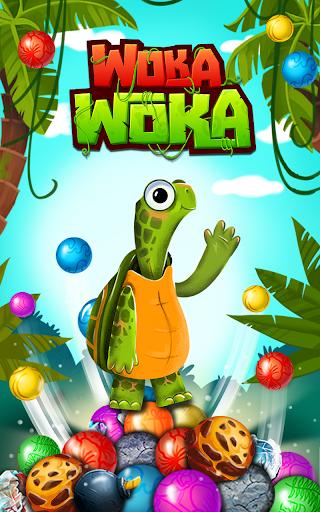 Marble Woka Woka from the jungle to the marble sea screenshot 4
