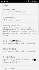 Voice & Audio Recorder - ASR v67 Premium