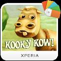 XPERIA™ Kooky Kow Theme icon