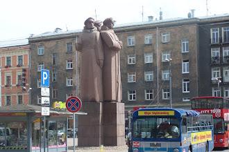 Photo: Памятник латышским стрелкам ( винтовки у них  демонтировали)