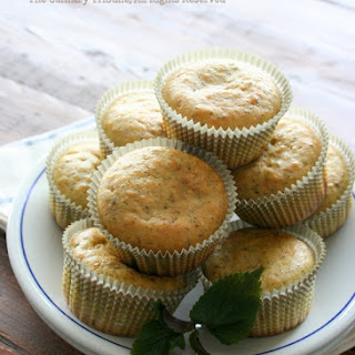 Lemon Basil Muffins – Vegan