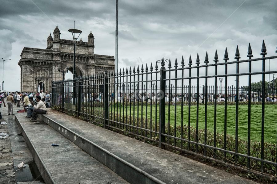Mumbai Park by Budiono Tio - City,  Street & Park  Historic Districts ( mumbai, park, india, travel, historical, landscape, city )