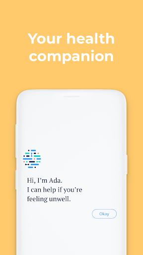 Ada – your health companion screenshot 1