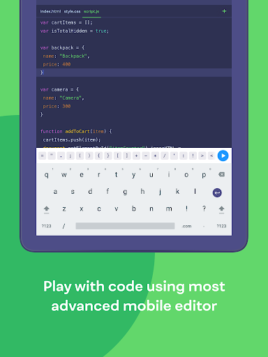 Mimo: Learn coding in JavaScript, Python and HTML 2.31 screenshots 13