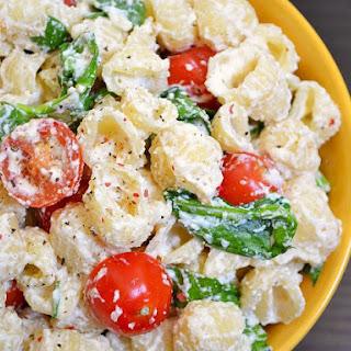 Roasted Garlic Pasta Salad.