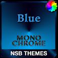 MonoChrome Blue for Xperia apk