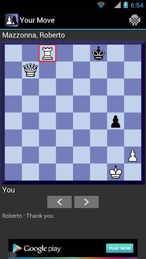 Your Move Correspondence Chess 1.4.10 screenshots 3