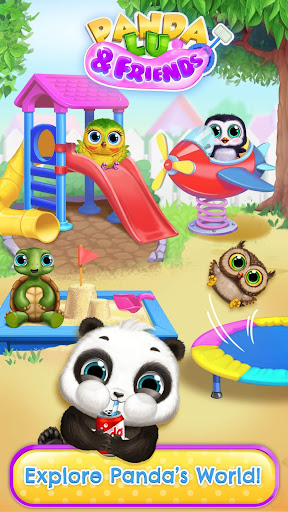 Download Panda Lu & Friends - Playground Fun with Baby Pets For PC 1
