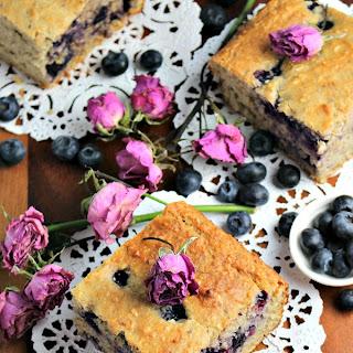Skinny Blueberry Banana Bread - Sugar Free