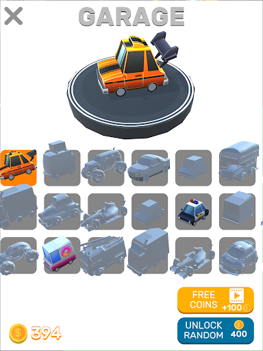 Turbo Taxi - screenshot
