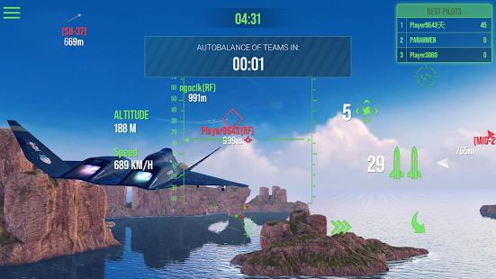 現代戰機:天空戰士PvP噴氣戰