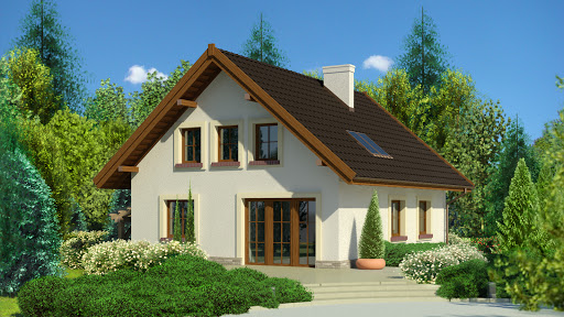 projekt Dom przy Pomarańczowej