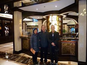 Photo: Remus & Jenny with Dick Lau at his villa project in Pudong, Shanghai