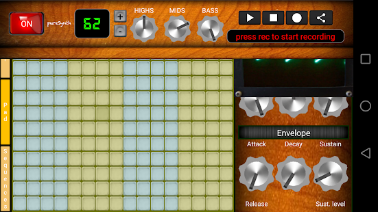 pureSynth Pro [Musik-Synthesizer] Screenshot