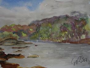 Photo: Rio Potomac, 18 x 24 cm, 7-7-07, 220 €