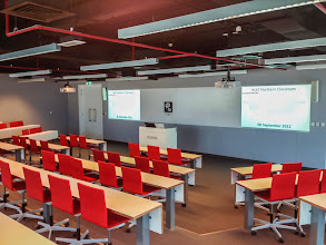 Photo: Hult International Business School: An example of a corporate AV project.
