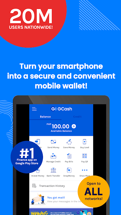 GCash - Buy Load, Pay Bills, Send Money – (Android Apps