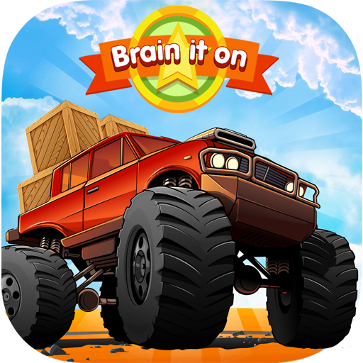 Brain It On - Wood Trucks Physics