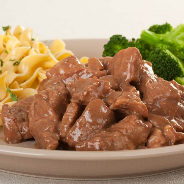 Beef Cubes and Gravy