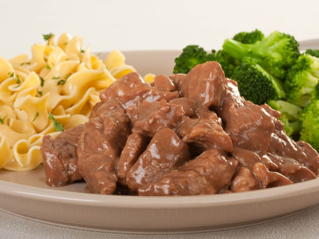 Beef Cubes and Gravy Recipe