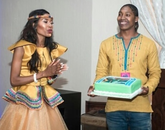 Caster Semenya and Violet are love goals for days.