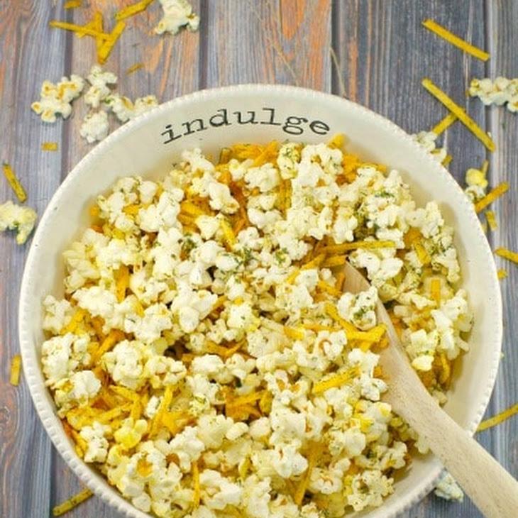Shortcut Harvest Popcorn - Savoury Popcorn Seasoning Recipe
