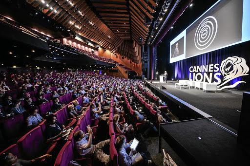 The Cannes Lions International Festival of Creativity brings together professionals working in the creative space. Picture: GETTY IMAGES/FRANCOIS G DURAND